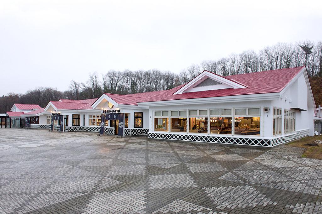磐梯山SA(下り線)商業施設リニューアル