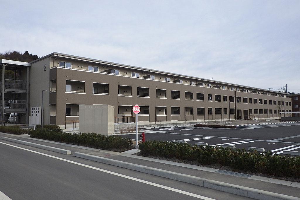福島県復興公営住宅 二本松市石倉団地