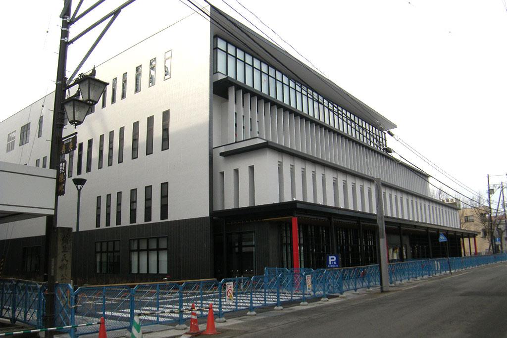 会津若松生涯学習総合センター(会津稽古堂)外構整備
