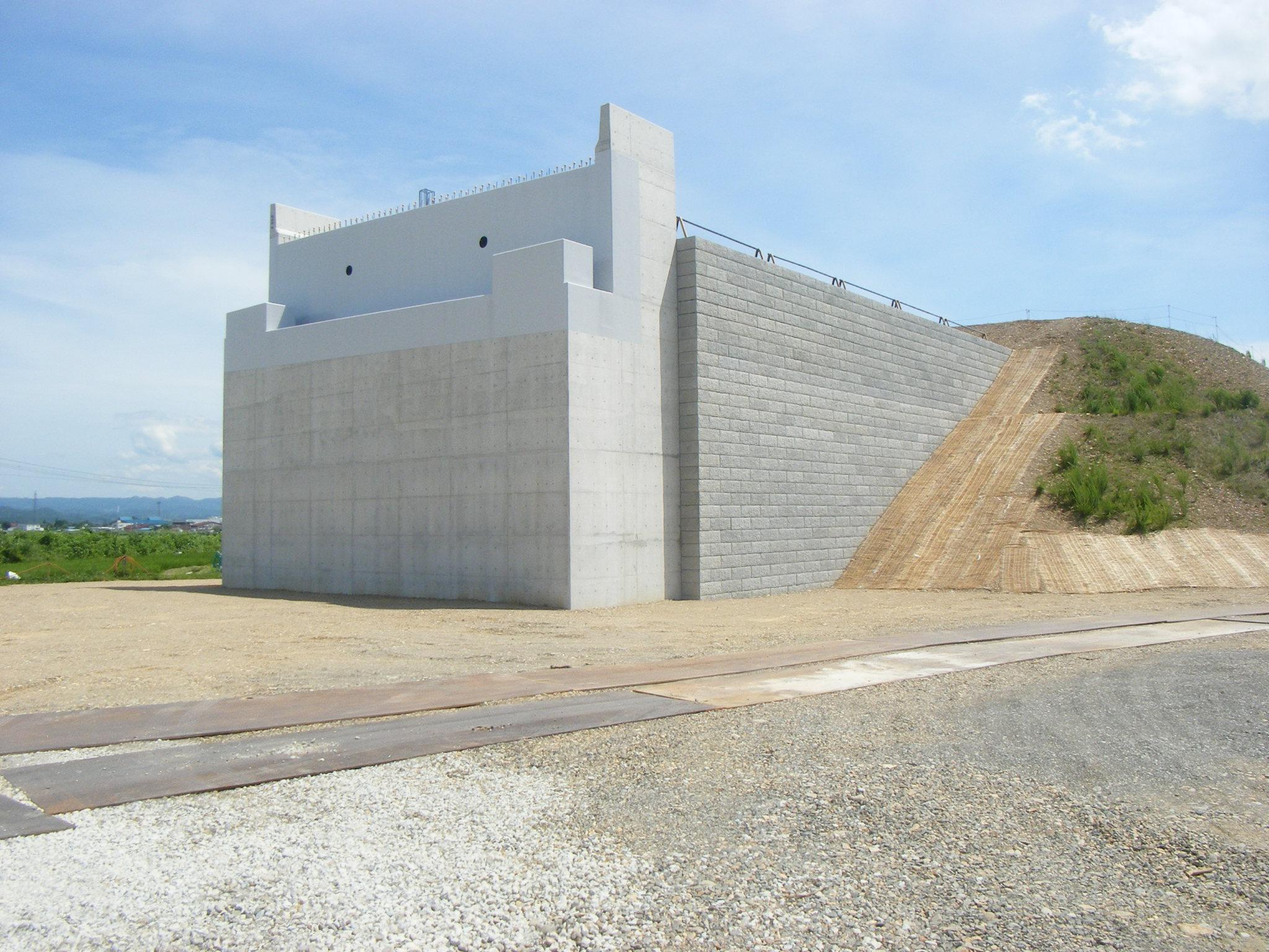 新井田谷地地区下部工工事